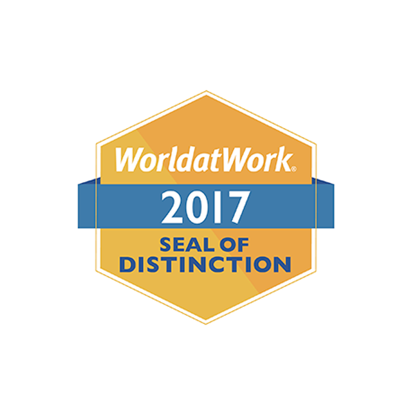 World at Work, 2017, Seal of Distinction